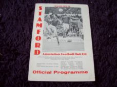 Stamford v Kempston Rovers, 1978/79